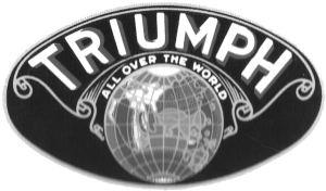 1932-1933 Globe Variant. Triumph All Over The World